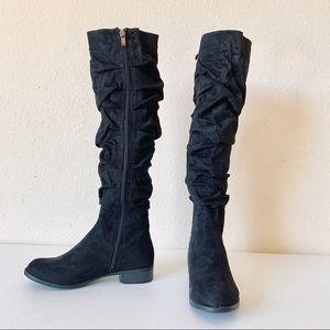 Catherine Malandrino Ruched Knee High Boot (new)